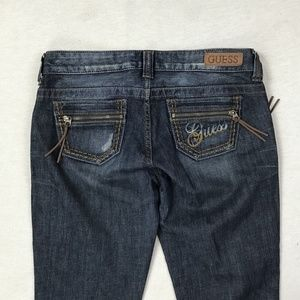 """Guess Size 28 Women""""s Low Rise Slim Boot Cut Jeans"""